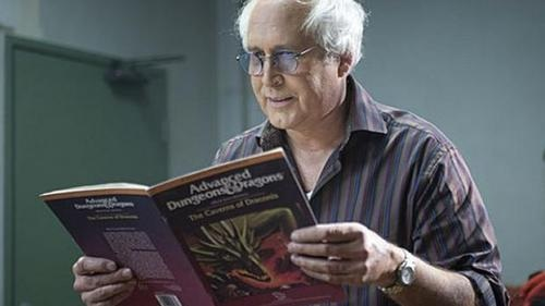 Chevy Chase: a jerk in real life and in fiction.